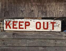Bulletproof Home - Keep Out
